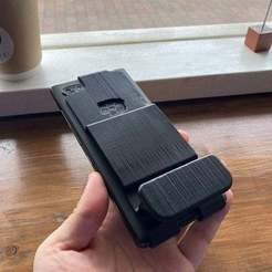 Download free STL file BlackBerry Key2 Grip for Typing • 3D printing template, CyberCyclist