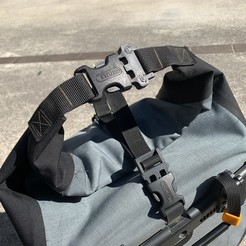 Download free 3D print files Buckle replacement for Ortlieb bag V2, CyberCyclist
