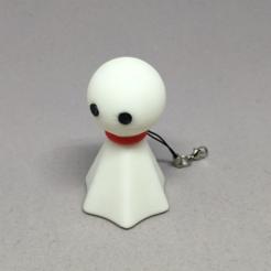 Télécharger modèle 3D gratuit Teru Teru Bouzu / poupée ensoleillée japonaise, CyberCyclist