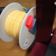 Free 3D print files Front Access Spool Holder for AFINIA/UP!PLUS, CyberCyclist