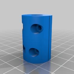 cf16e4d65a20e5fde40baa539c0de6c6.png Télécharger fichier STL gratuit Mon coupleur paramétrique personnalisé de l'axe Z (accouplement à tige filetée et pas à pas) • Design pour impression 3D, jdmolina