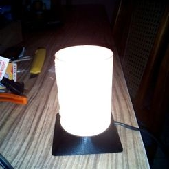 Descargar modelos 3D base lampara litofania, jdmolina