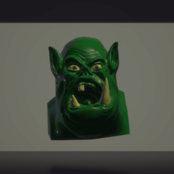 Download 3D model Orc bust, yappingboy