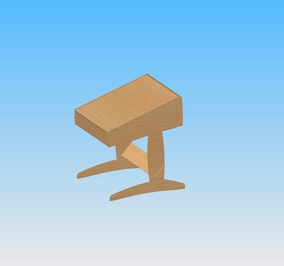 Ass bureau.JPG Télécharger fichier STL gratuit Bureau  • Design pour impression 3D, maxgg