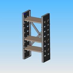 Descargar modelos 3D gratis estanterías, maxgg