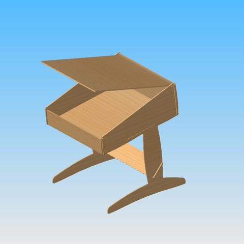 Ass bureau'.JPG Télécharger fichier STL gratuit Bureau  • Design pour impression 3D, maxgg