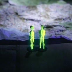Free 3D file Cut/Copy We Are Explorers - 3D Printed Video, maumorgo