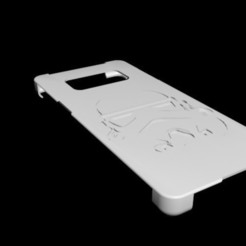 Download 3D print files hull Samsung S8 stormtrooper, slim