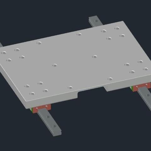 a764d88463fd6350b742295b5a7f5e50_preview_featured.jpg Download free STL file Creality CR-10 - Linear Mod MGN12H • 3D printable template, CSD_Salzburg