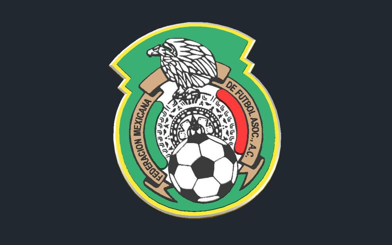 Capture d'écran 2017-01-12 à 16.27.37.png Download free STL file Mexico_National Football Team - Logo • Template to 3D print, CSD_Salzburg