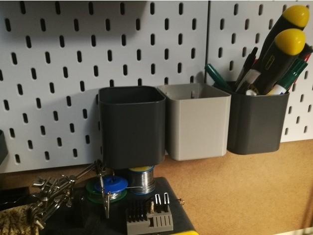 f8d8b6bdeb36a2512693b8cfffd38a8f_preview_featured.jpg Télécharger fichier STL gratuit IKEA SKADIS Conteneur / Placard • Modèle imprimable en 3D, CSD_Salzburg