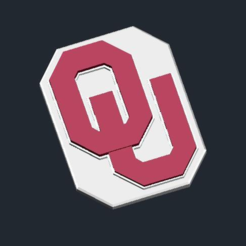 Capture d'écran 2017-01-12 à 16.26.24.png Download free STL file Oklahoma Sooners - Logo • Object to 3D print, CSD_Salzburg