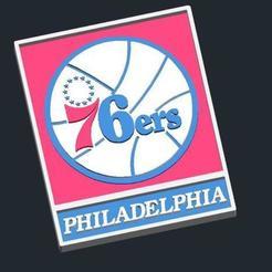 17751228cb356228b0344ad6ffb60aca_preview_featured.jpg Télécharger fichier STL gratuit Logo Philadelphia 76ers • Objet pour imprimante 3D, CSD_Salzburg