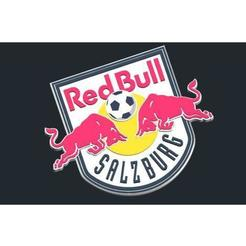 Download free 3D printer designs FC RedBull Salzburg - Logo, CSD_Salzburg