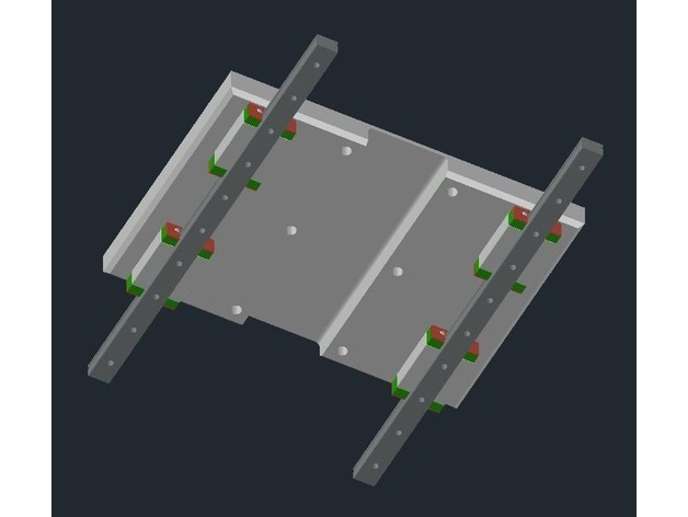 986e99caf89b1bab7bff6379af1e5a46_preview_featured.jpg Download free STL file Creality CR-10 - Linear Mod MGN12H • 3D printable template, CSD_Salzburg