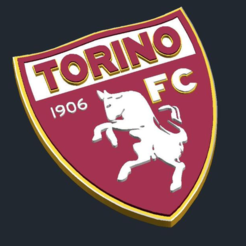 Download free 3D printer model  Torino FC - Logo, CSD_Salzburg