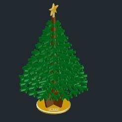 f8dd20456bcf80975577d1de8940648a_preview_featured.jpg Download free STL file Christmas Tree - DiY (printable) • Object to 3D print, CSD_Salzburg
