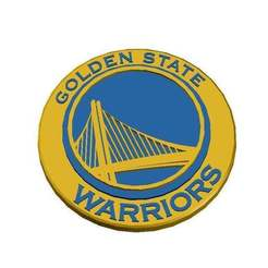 Logo_Golden_State_Warriors.jpg Télécharger fichier STL gratuit Golden State Warriors - Logo • Modèle pour imprimante 3D, CSD_Salzburg
