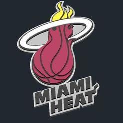 6ade1a8c9f1044d81c8a48c16c7265b0_preview_featured.jpg Télécharger fichier STL gratuit Logo Miami Heat • Modèle pour impression 3D, CSD_Salzburg