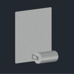 Télécharger objet 3D gratuit IKEA SKÅDIS Porte-serviettes, CSD_Salzburg