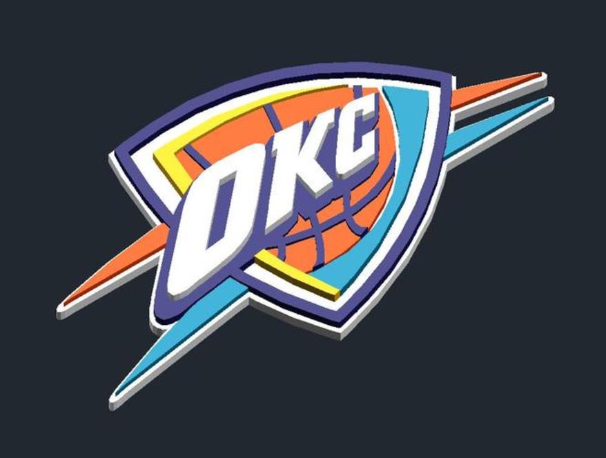 Capture d'écran 2017-01-04 à 20.09.51.png Télécharger fichier STL gratuit Oklahoma City Thunder - Logo • Objet pour imprimante 3D, CSD_Salzburg