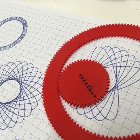 Free STL Geometrical Drawing Disc, 0dh