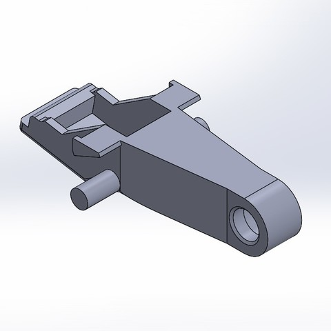 Crochet fermeture haillon aout2018 plus4mm.JPG Download STL file Clip Clio II Renault (2003) • 3D printer design, rudboy1234