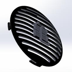 Imprimir en 3D gratis Altavoces de caché Clio 2 traseras Kame Casa DBZ, rudboy1234