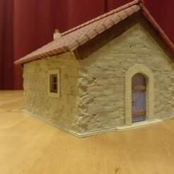 IMG_20210112_183720.jpg Télécharger fichier STL gratuit Maison en pierre • Modèle pour imprimante 3D, phipo333