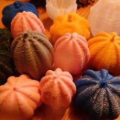 Free STL file Pumpkin, squash, phipo333