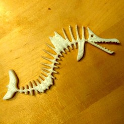 Download free 3D printer files Fish fossil, phipo333