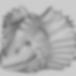 Head1_6.stl Download free STL file Head of Dragon • 3D print template, phipo333