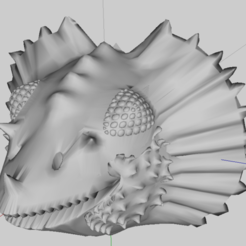 Free 3D printer model Head of Dragon, phipo333