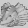Chimére.png Download free STL file Head of Dragon • 3D print template, phipo333