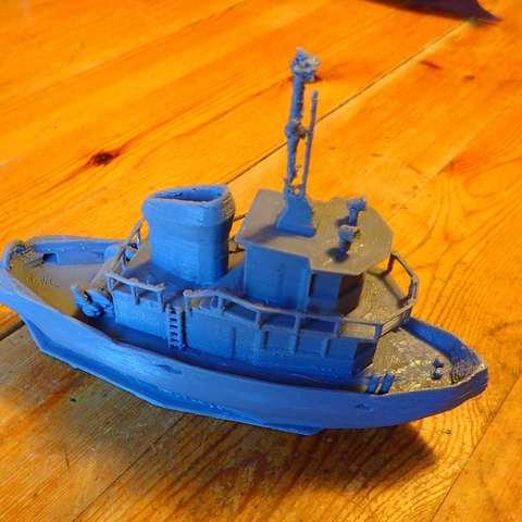 PC196283.JPG Download free STL file Tugboat • 3D printer design, phipo333