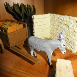 Free 3D printer model Donkey, phipo333