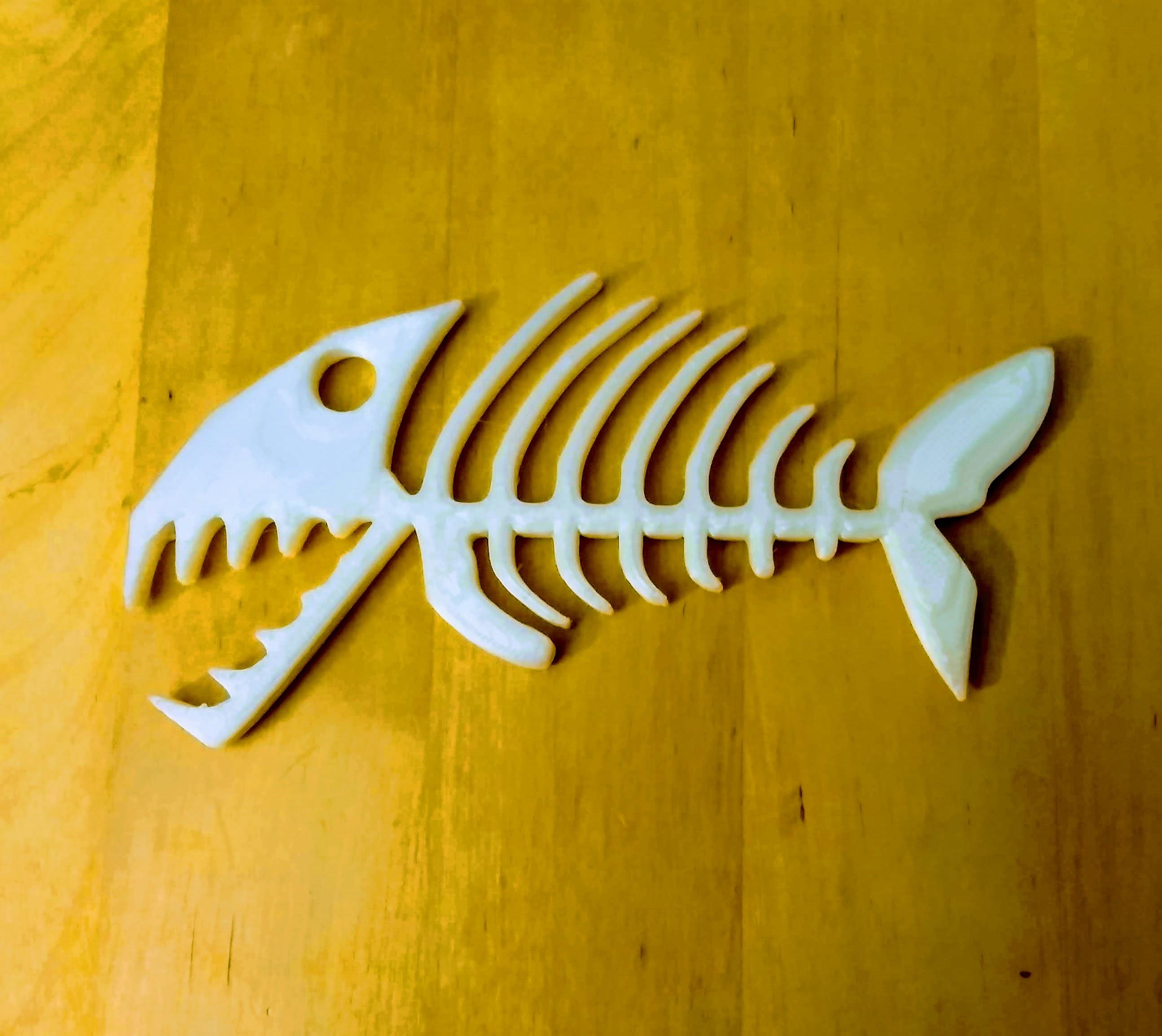 IMG_20190924_201141.jpg Download free STL file Keyring, Fish skeleton • 3D print model, phipo333