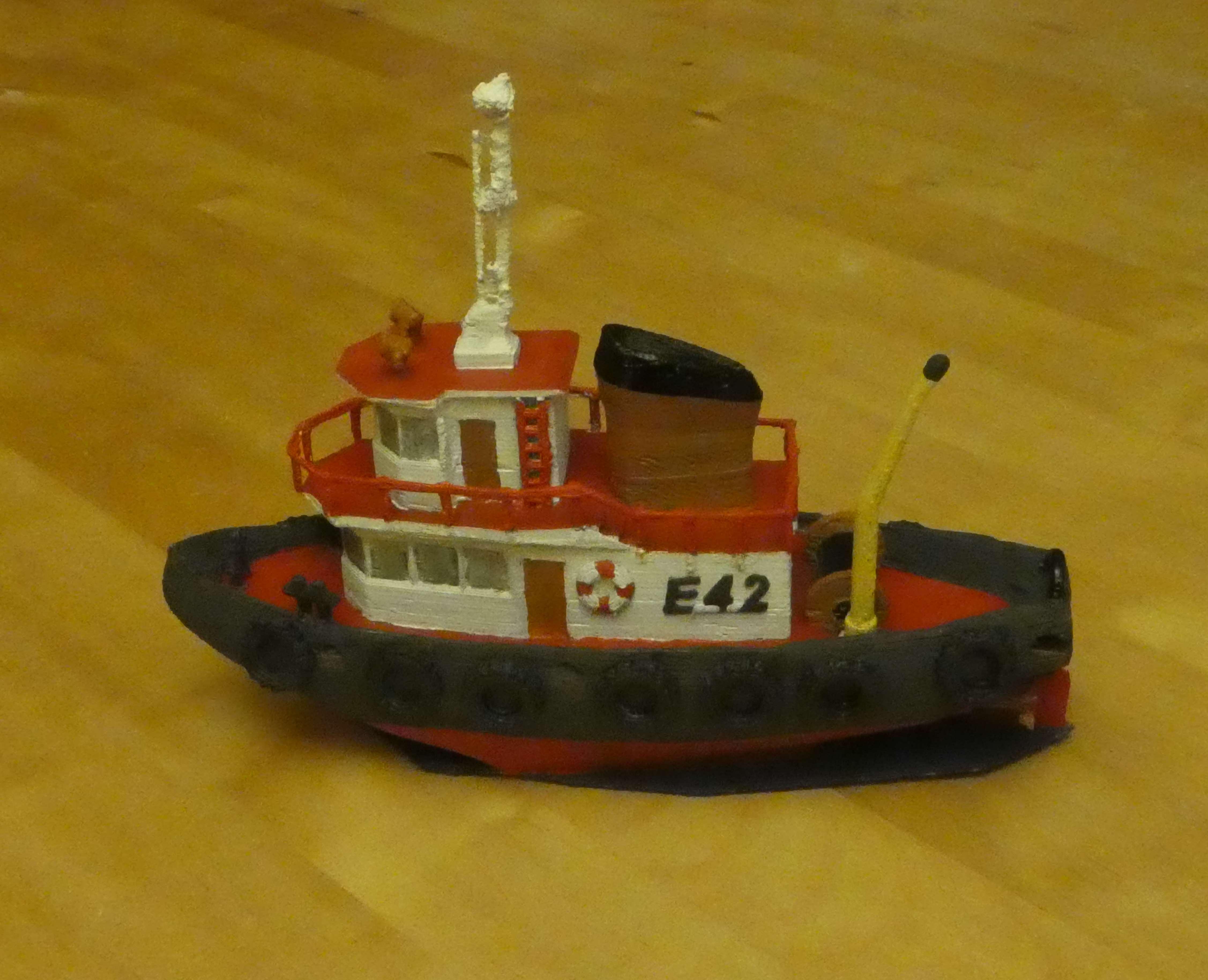 P1130096_2.jpg Download free STL file Tugboat • 3D printer design, phipo333
