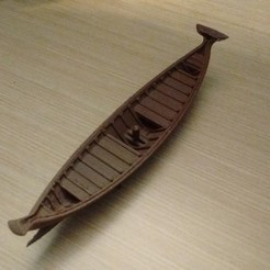 Download free 3D printer templates Antic boat, phipo333