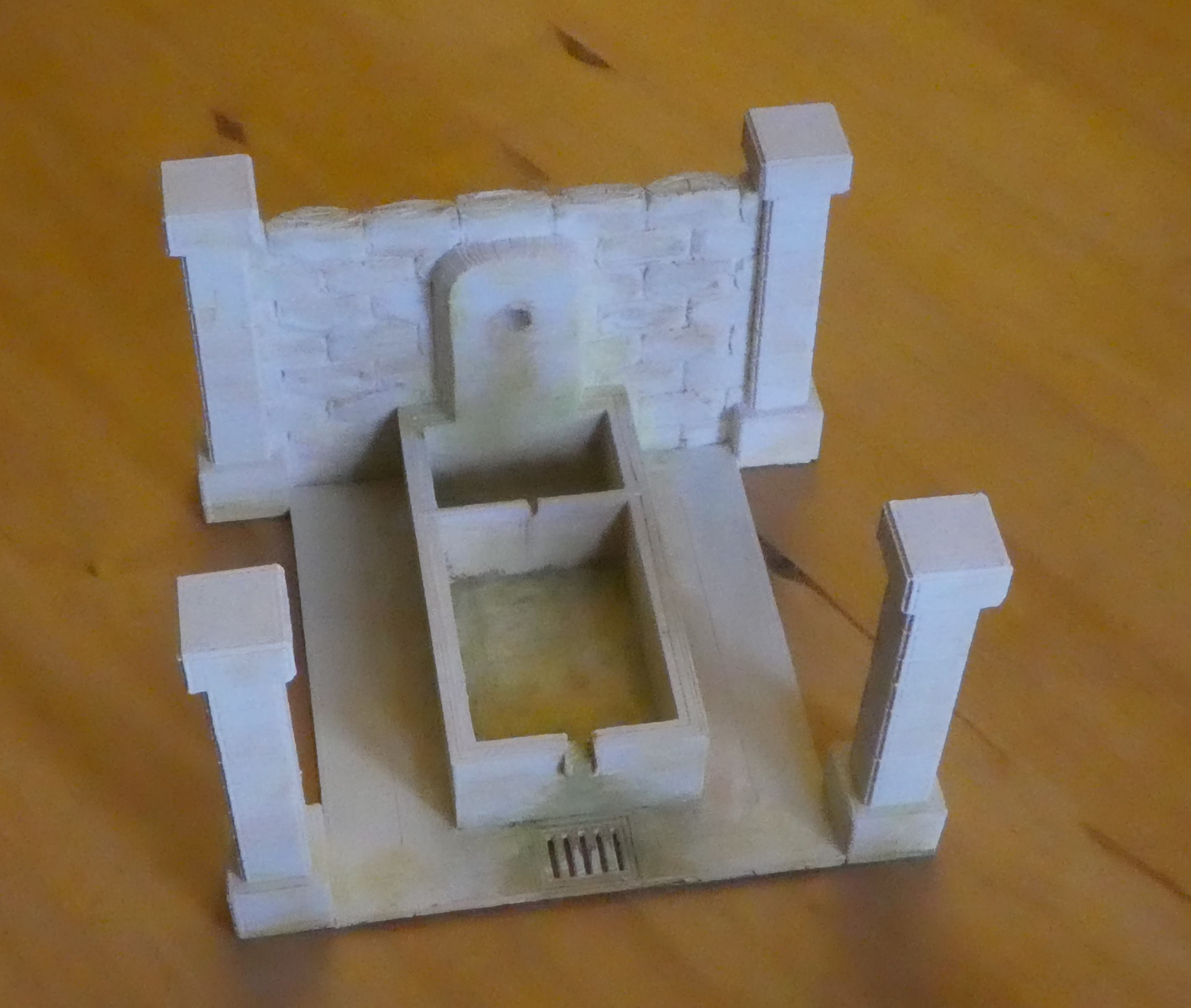 P1130424.JPG Download free STL file Provencal wash-house • 3D printable object, phipo333