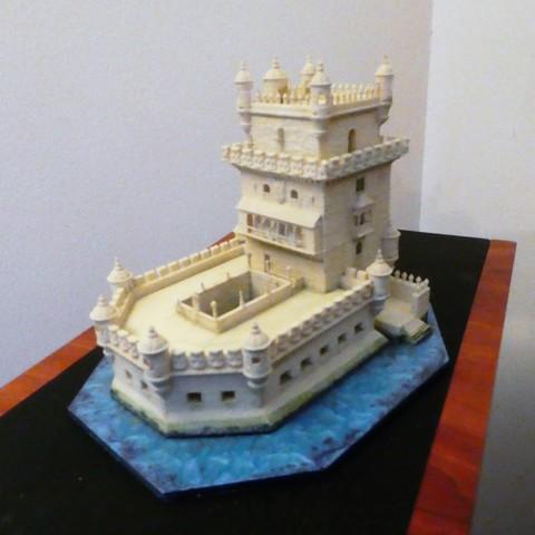 Free 3D printer model Torre De Belem, phipo333