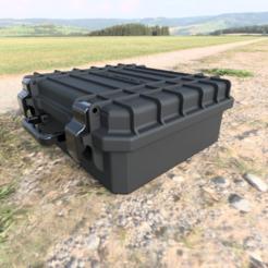 3D printing model Hard case, rio83
