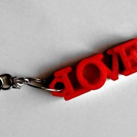 Download free STL LOVE shaped usb flash drive case with keychain, Emese
