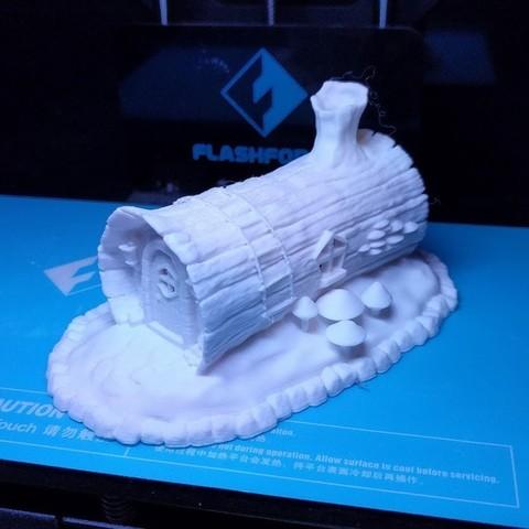 IMG_20171009_230624.jpg Download STL file House in a Log • Template to 3D print, kijai
