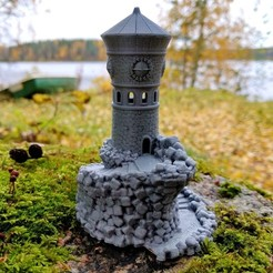 IMG_20171008_142355.jpg Download free STL file Forbidden Watchtower • 3D print design, kijai