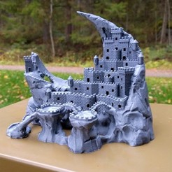 3D print model Fortress of the Crescent, kijai