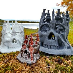 Download 3D printing files Skull City, kijai