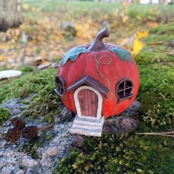 3D print model Pumpkin Hut, kijai