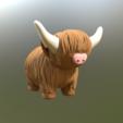 modelos 3d gratis Vaca de montaña, kijai