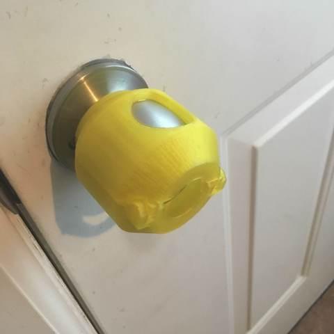 Download free STL Doorknob Cover, 9R07S6VOOU0K20